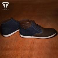 harga Sepatu casual pria/sneaker/sneakers trumph choper blue Tokopedia.com