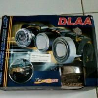 Foglamp Projector DLAA dengan Angel Eyes Bagus Murah