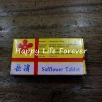 Safflower Tablet - obat pelancar datang bulan / telat bulan