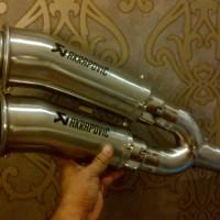 Knalpot Akrapovic Megaphone Double