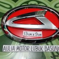 harga Emblem Grill Logo Depan Daihatsu Terios New Ayla Lainnya Merah (1bh) Tokopedia.com