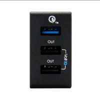 Qualcomm 2.0 Tronsmart Quick Charger 3P Wall Charger. TS-WC3PC