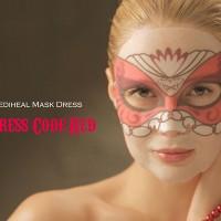 Dress Code Red Mask Mediheal - Masker Korea Merah (Per Sachet)