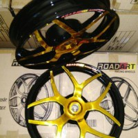 harga velg ROAD ART mio sporty - mio soul - beat fi - beat pop - xride Tokopedia.com