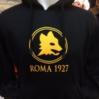 Jaket Hoodie Jumper as roma Sweater Bola