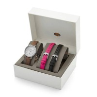 nita Fossil Original ES3869SET Jacqueline Watch Box Leather
