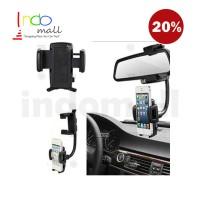 PEGANGAN HP MOBIL CAR REARVIEW MIRROR HANDPHONE HOLDER
