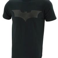 Kaos Baju Superhero TopGear Batman The Dark Knight Logo Black Version