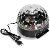 harga Crystal Magic Ball Sound Activated Led Disco Lamp With Dmx512 Tokopedia.com