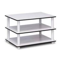 Meja Putih 3 Tingkat Multifungsi
