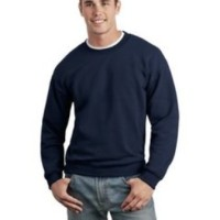Sweater Basic Polos Oblong Biru Navy Unisex