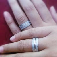 harga Cincin Titanium Stainless Couple Tokopedia.com