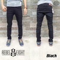 Celana Jeans Slimfit Hitam Rebel Eight-Skinny Jeans Black-Melar-Rebel8