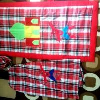 Sarung Anak Combo Instan Peci Sajadah Size S - M