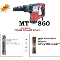 Mesin Bobok Beton Demolition Hammer MT 860 Extra 1 Pcs Mata Bobok