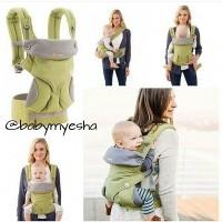 Jual Gendongan bayi ErgoBaby Ergo 360 Baby Carrier hadap depan 4 in 1 Green Murah