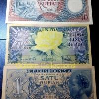 Paket Uang kuno mahar pernikahan 16 rupiah (kode bunga)