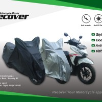 Recover Size XL Motor Sport Laki Motorcycle Cover
