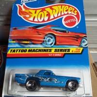 HW423 Hot Wheels 1998 Tattoo Machines Series-'57 T-Bird Blue