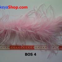 Ostrich Pink Sembur Putih (BOS 4)