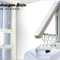 HARGA PROMO Hanger Indor / Gantungan Baju Tempel / Hanger Kamar Ruangan