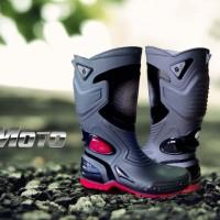 Jual Sepatu AP Boots Moto 3 ~ Sepatu Motor Anti Air Sepatu Hujan Boot Moto3 Murah