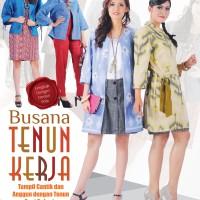Busana Tenun Kerja (Tiara Aksa - Fashion)