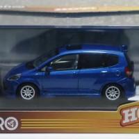 1/43 Ebbro Honda Fit GD3 Mugen Biru