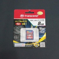 Transcend 8Gb Class 10 Speed Up To 90 Mbps (600x)