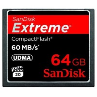 Sandisk CF Extreme UDMA 60MB / S 64GB