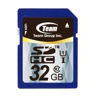 Team SDHC UHS-1 32GB Biru
