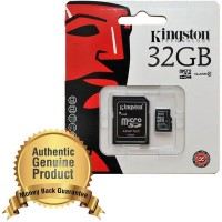 SD Card Kingston MicroSDHC High Capacity Micro Secure Digital Card UHS