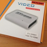 NetLine HD Video Converter (HDMI to VGA+Adaptor)