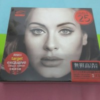 CD Adele 25 Target Exclusive Original 3 disc imported china