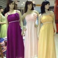Longdress/gaun Pesta Panjang/dress Pesta Import/baju Pesta Sifon/korea
