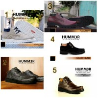 Sepatu Boots Pria Humm3r
