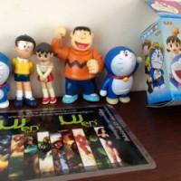 Doraemon Nobita Sizuka Giant Set Figure