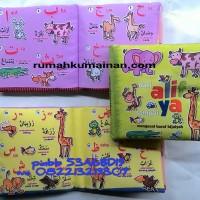 Soft Book / buku bantal Dari Alif sampai Ya - Mengenal Huruf Hijaiyah