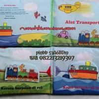 Soft Book / Buku Bantal Judul Alat Transportasi