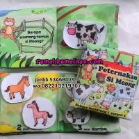 Soft Book /Buku Bantal Peternakan si Meong