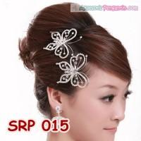 Sirkam Rambut Pesta Kupu-kupu l Aksesoris Sanggul Pengantin - SRP 015