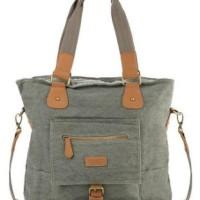 harga Tas Triset Canvass Multi Purpose Shoulder Bags (original) _ Olive Tokopedia.com