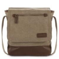 harga Tas Triset Canvass Messenger Sling Bag (Original) Flap Cover _ Beige Tokopedia.com