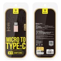 Baseus Rui Series Micro USB To USB Type C Adapter Converter