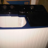 Mesin Cuci 2 Tabung Panasonic NA-W120BC1 ALOWA +