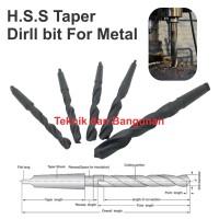 HSS Taper Bit 32mm x 325mm (Shank MT#3)