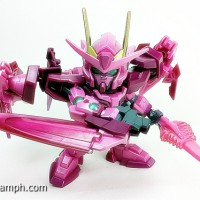 Bandai SD Gundam Action Figure 00 Raiser (00 Gundam + 0 Raiser)