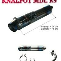 KNALPOT I-ONE RACING PELANGI MODEL R9 (BEBEK-MATIC)