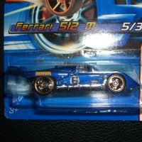 HOT WHEELS FERRARI 512M 2006 FIRST EDITIONS WITH FTE WHEELS (RARE)