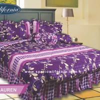 sprei my love calivornia lauren/seprei my love/seprai bed cover